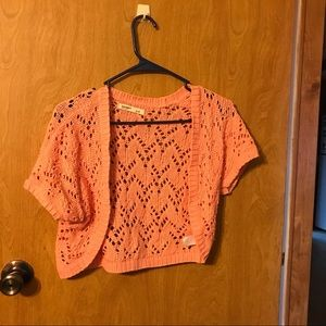 Women's Old Navy pink shrug. Small